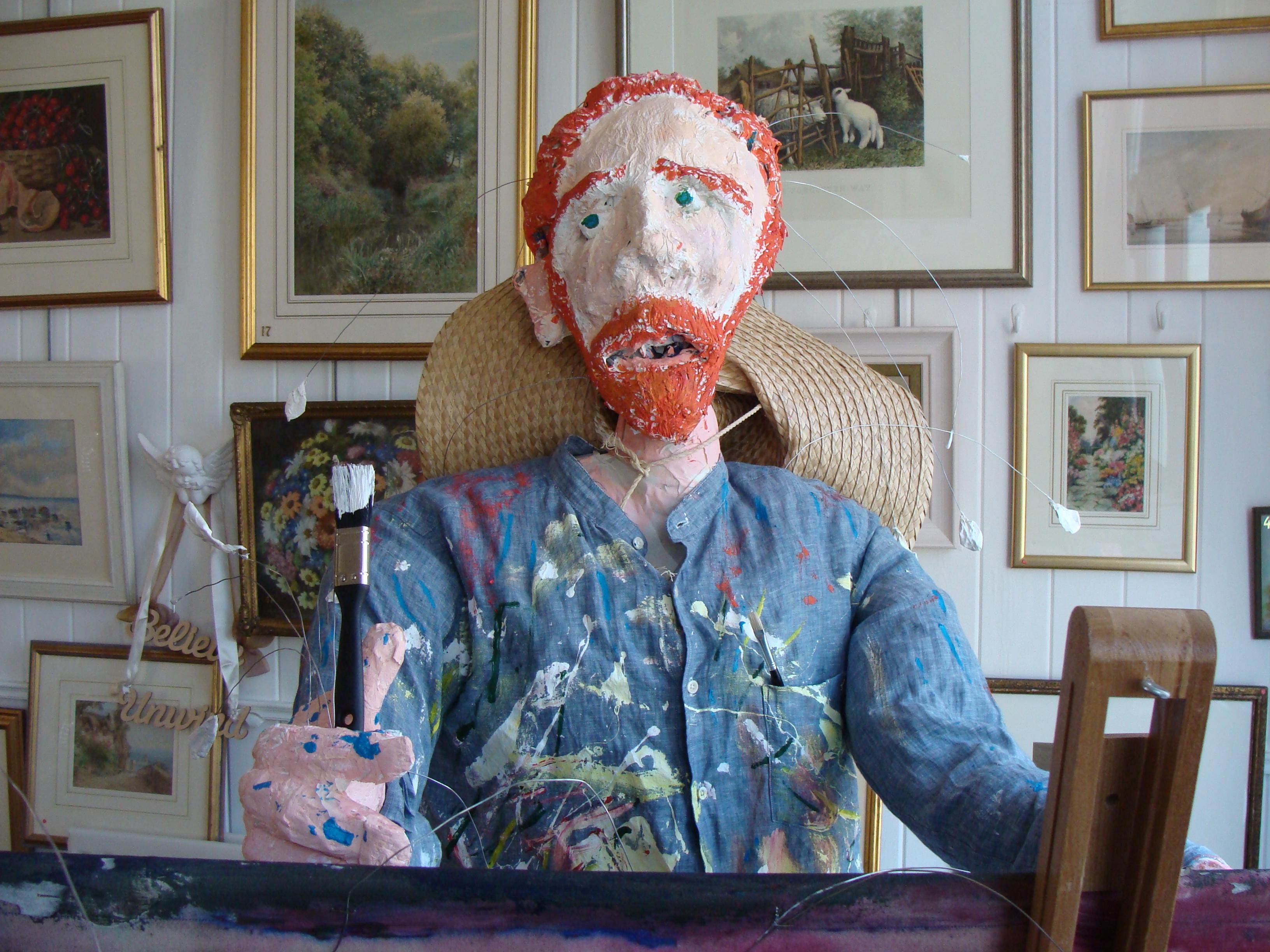 Vincent Van Gogh visits